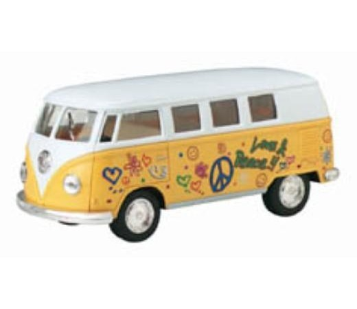 "VW Classical Bus (1962) 1:32 (5"" Asstd Colour) KT5060DF - Click Image to Close"