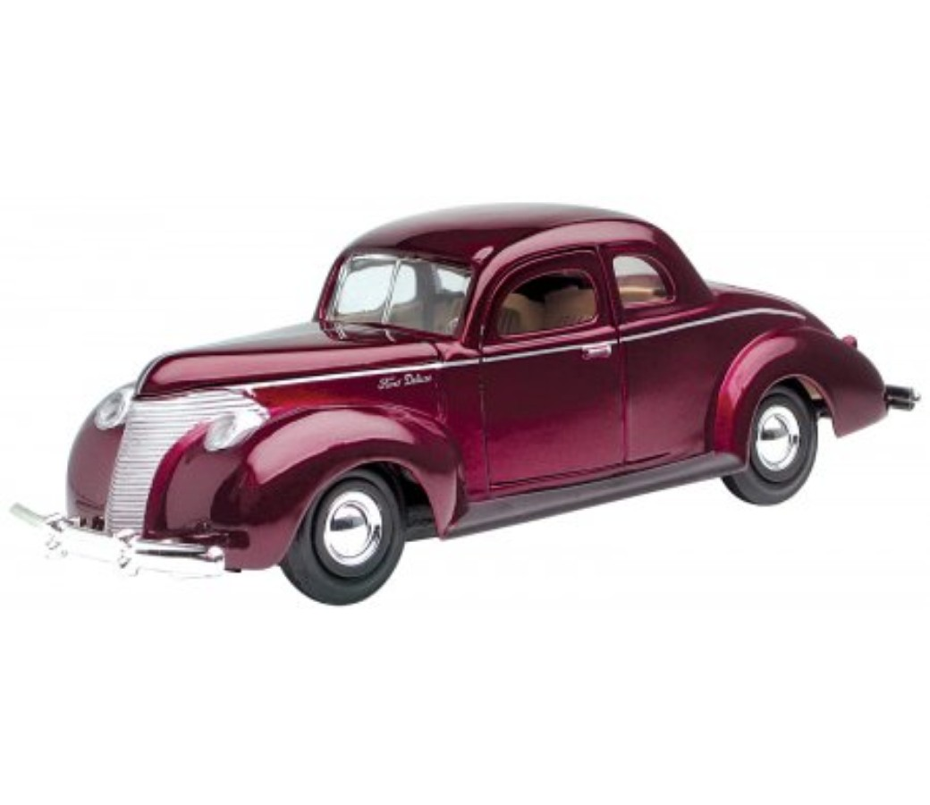 Ford Custom 1940 - 1:24 (Metallic Red) MM73214MR