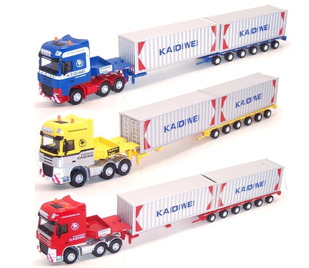 Container Truck 1:50 Heavy Diecast Model DC-620022